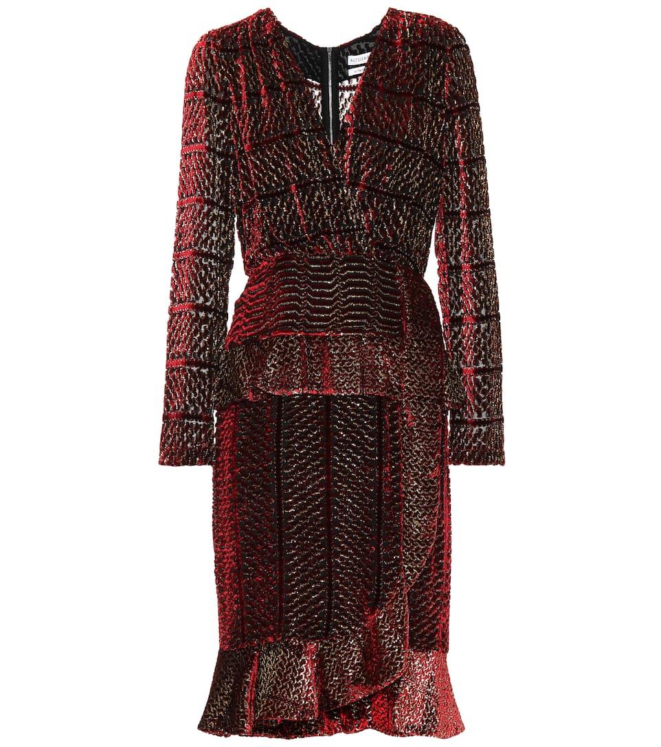 Altuzarra - Farley velvet and silk dress