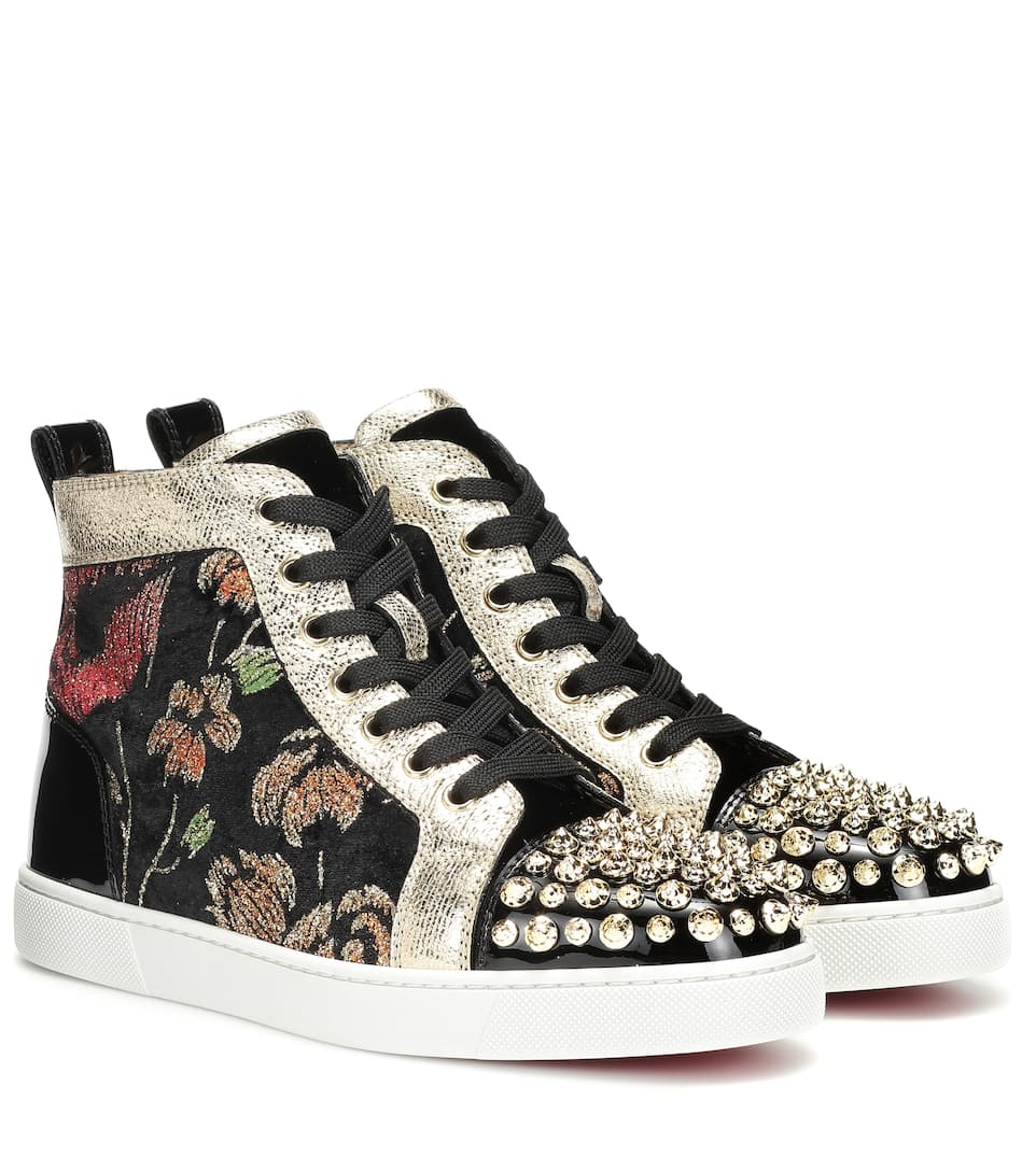 Lou Spikes High Top Sneakers