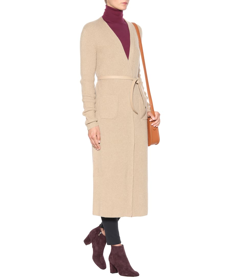 Loro Piana Cashmere Knit Coat From