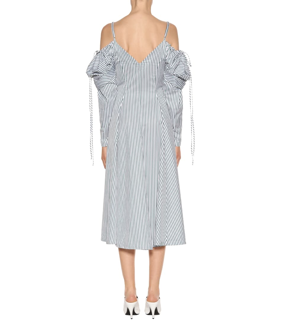 Cold-shoulder cotton dress J.W.Anderson Fashionable Sale Online For Nice Free Shipping Pick A Best Factory Outlet Cheap Online EPO8p