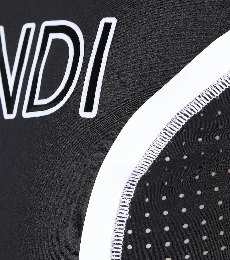Fendi Sporttop mit Logo-Print