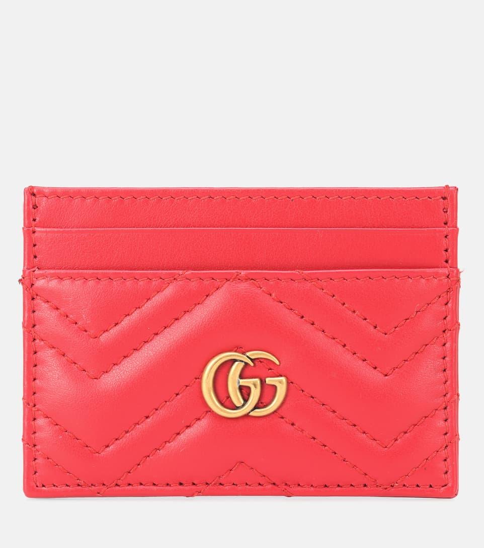 73fb095f23eee1 Gg Marmont Leather Card Holder - Gucci | mytheresa.com