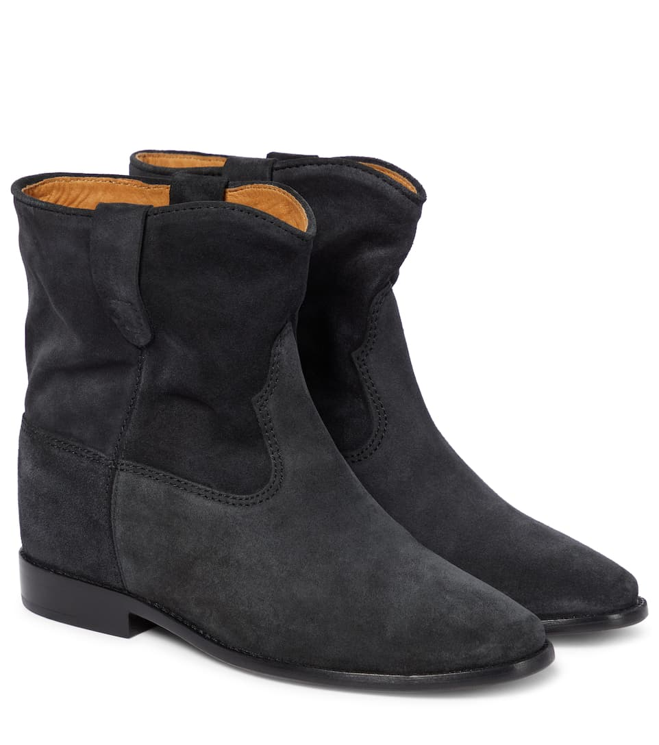 Isabel Marant - Crisi suede ankle boots