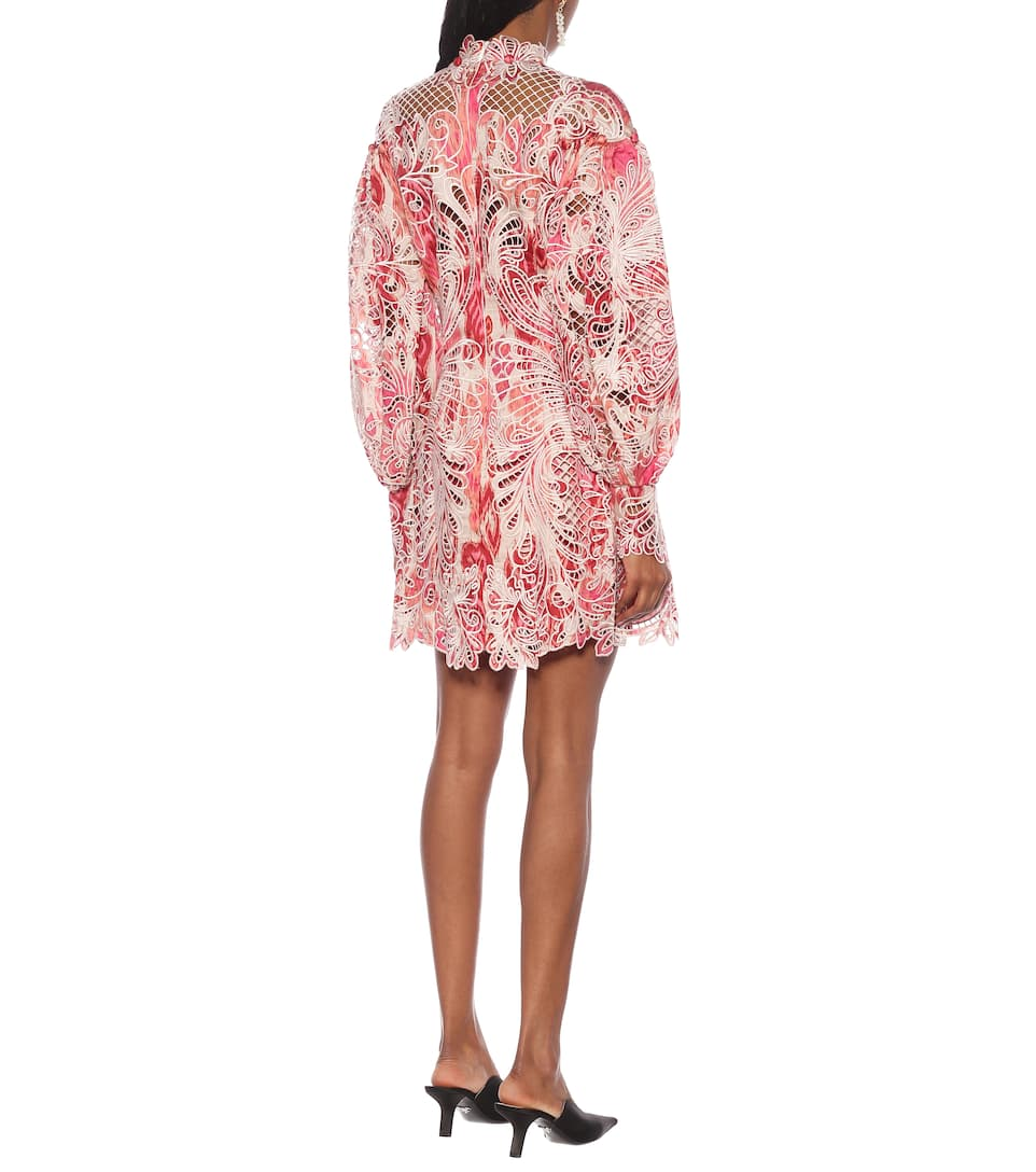 Zimmermann - Wavelength silk minidress