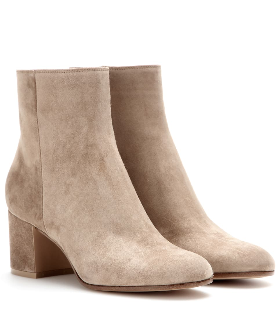 Bottines En Daim - Gianvito Rossi