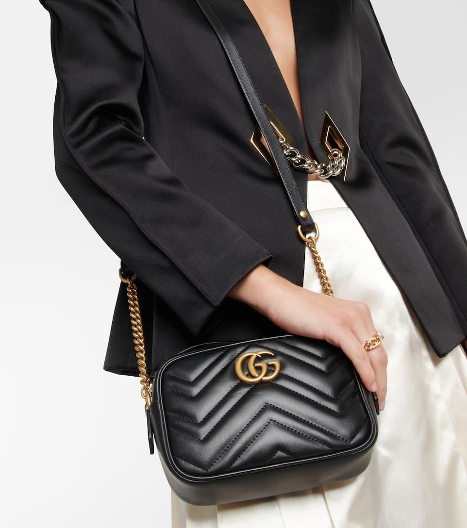 Gucci Marmont Shoulder Bag GG Small Pastel Multicolor in