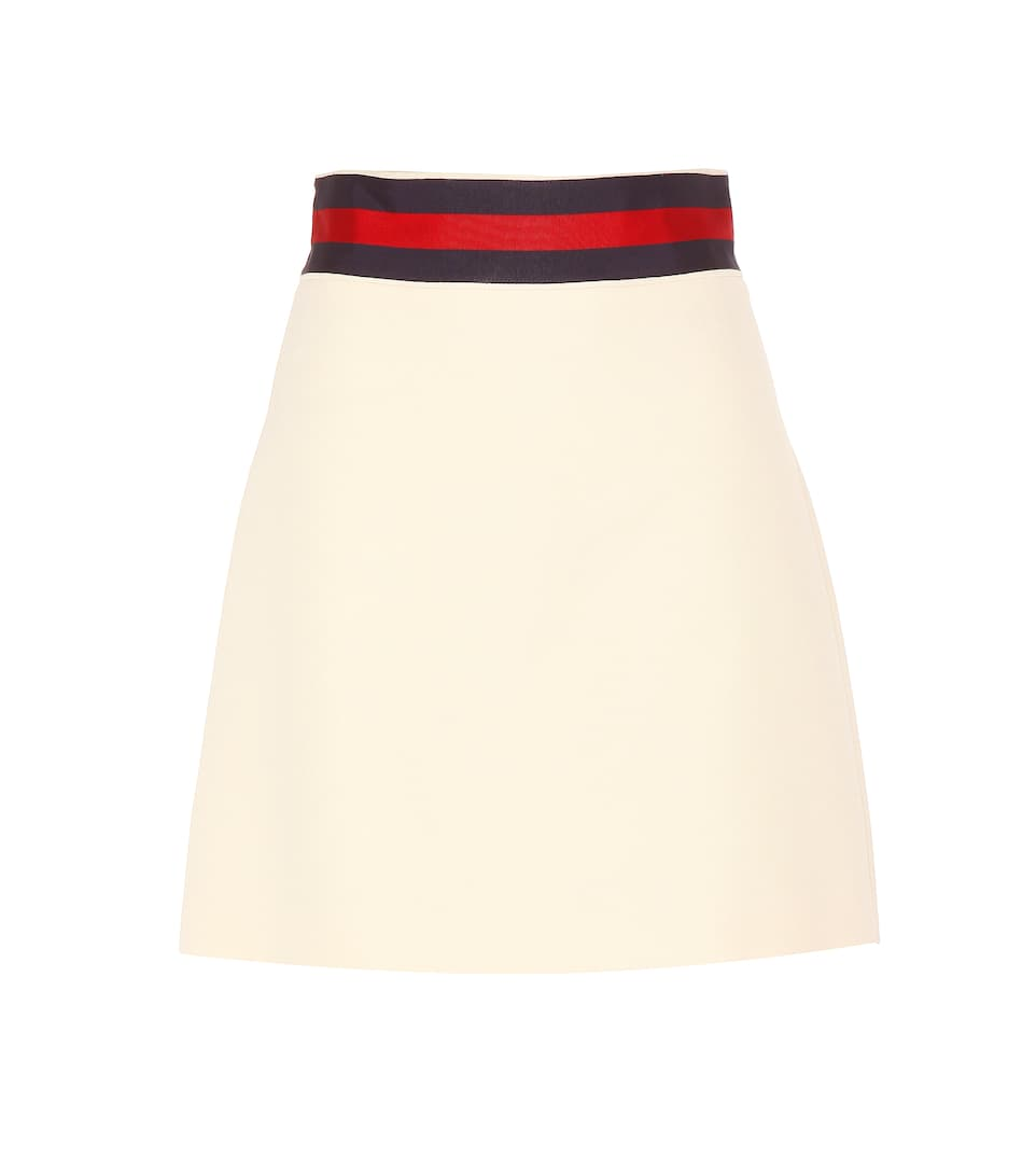 Gucci Wool Mini Skirt