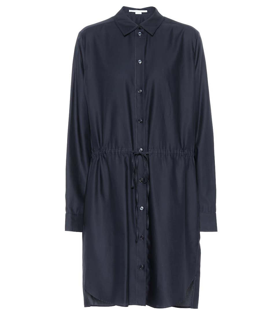 Stella McCartney Hemdblusenkleid aus Baumwolle