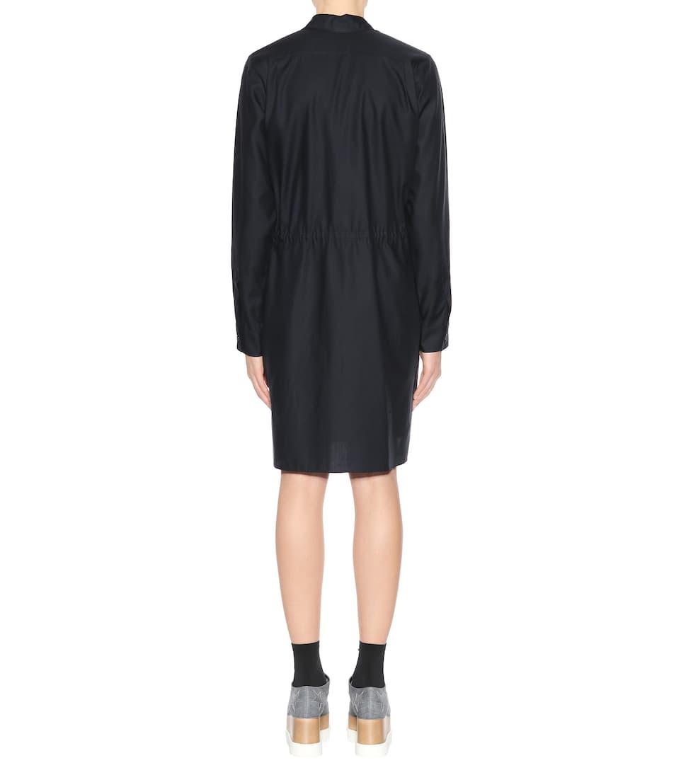 Stella McCartney Hemdblusenkleid aus Baumwolle Kaufen WGa4Tr
