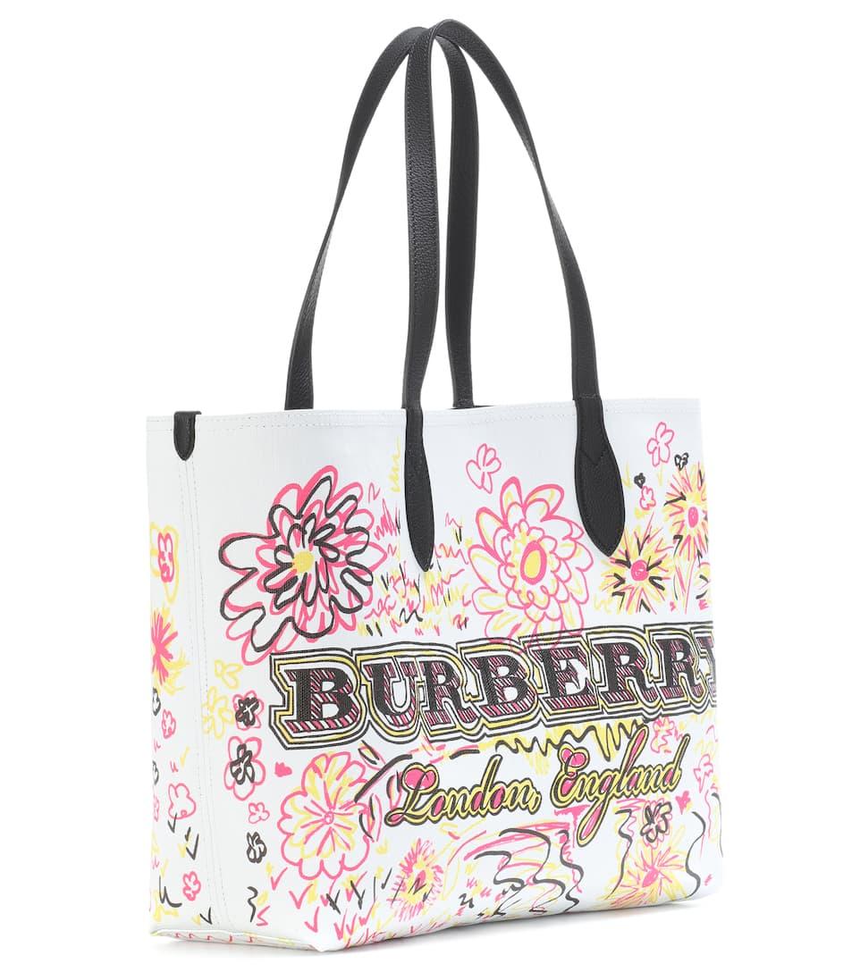 Günstig Kaufen Mit Paypal Günstig Kaufen 2018 Burberry Bedruckter The Doodle Medium Shopper INu21