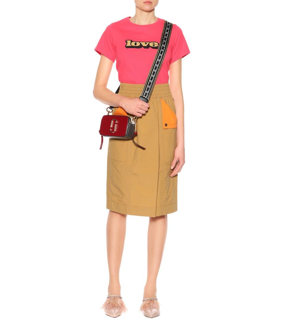Marc Jacobs Midirock aus Baumwolle und Nylon
