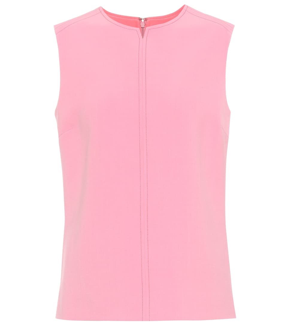 Victoria Beckham Top With Wool