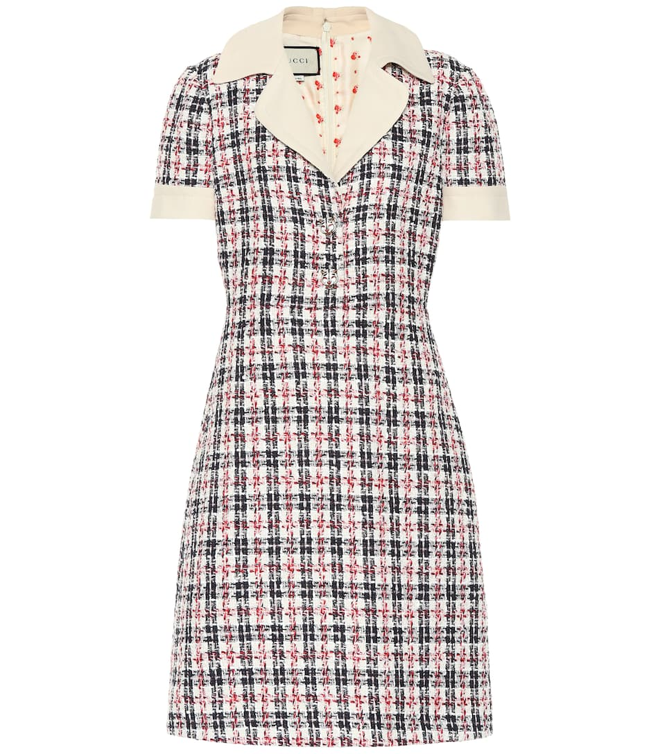 33c6a70fc Tweed Minidress - Gucci | mytheresa