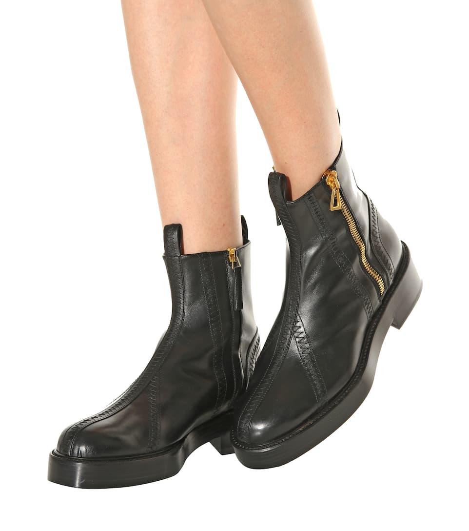 Ellery Venus leather ankle boots hzOLoiMFnM