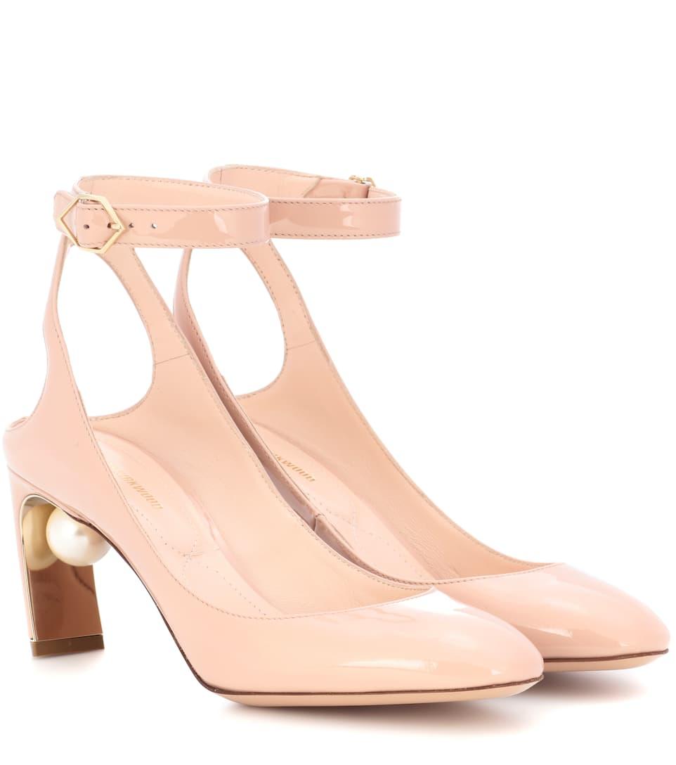 Nicholas Kirkwood Patent Leather Heels