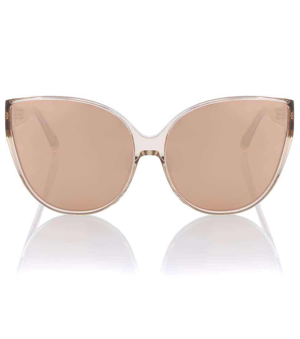 Vente Pas Cher Grand Escompte Oversized Cat-Eye Sunglasses - Linda Farrow Vente Excellente Vente En Gros Pas Cher Meilleur Vente Profiter Rfxfxue