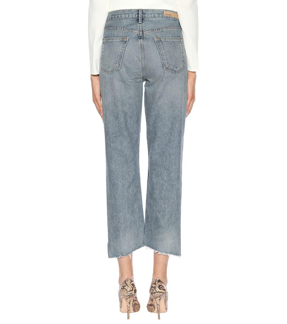 Grlfrnd Cropped Jeans Helena