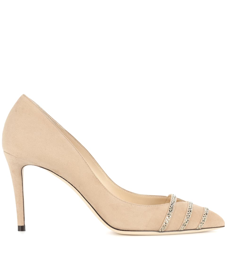 Jimmy Choo Pumps Bethan 85 aus Veloursleder