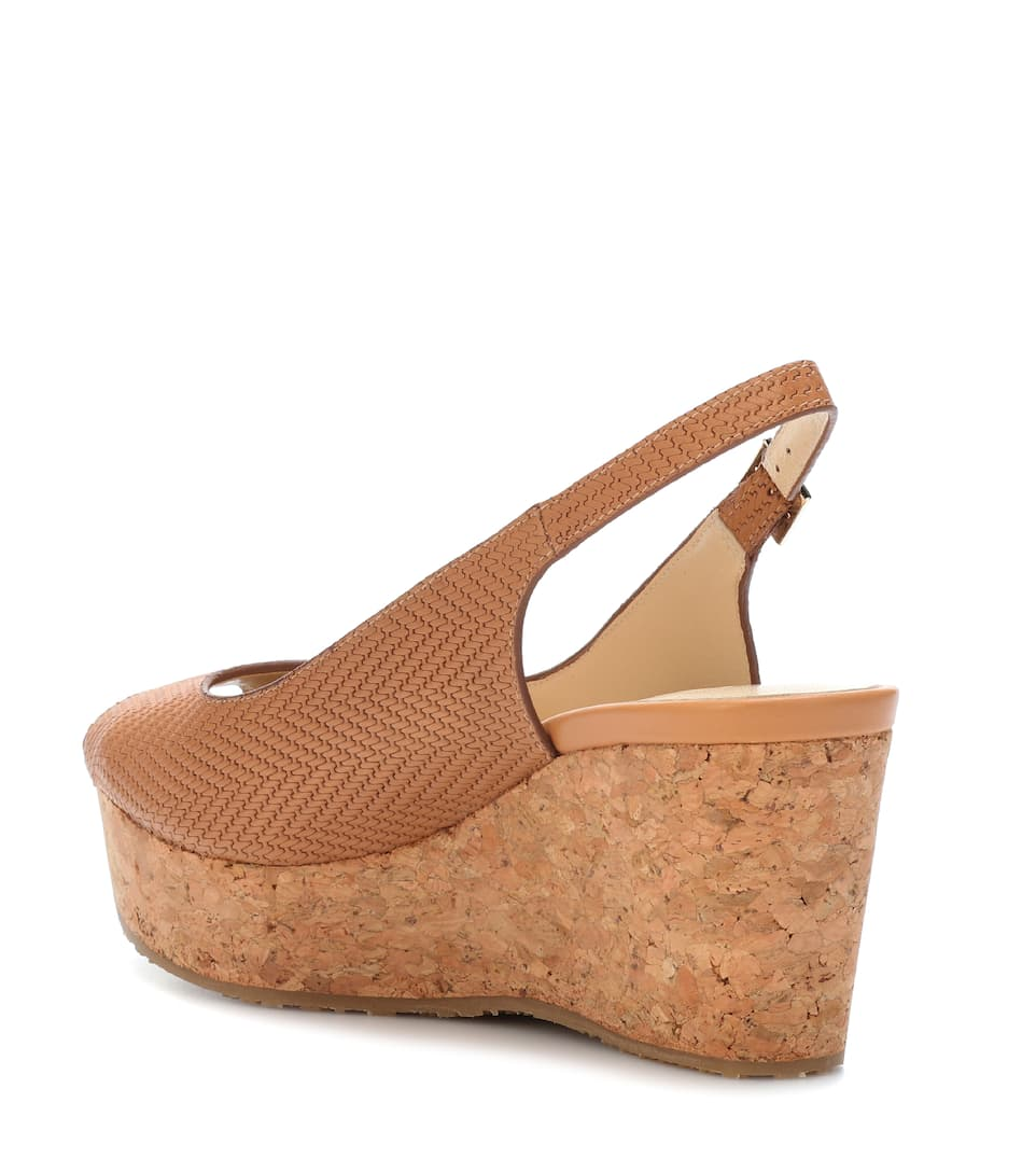 Jimmy Choo Wedge-Sandalen Praise