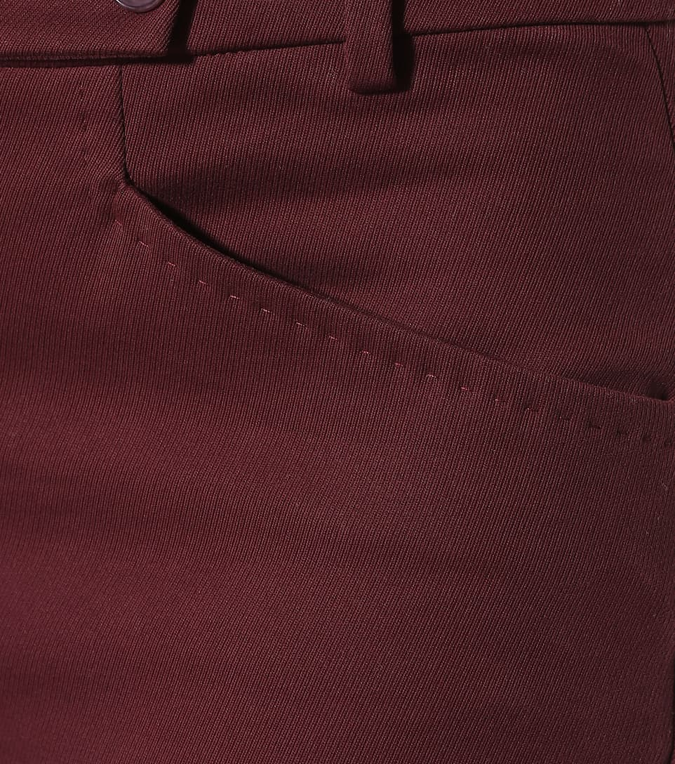 Piana de Loro Daryl algodón Burdeos pantalones Aw1fw