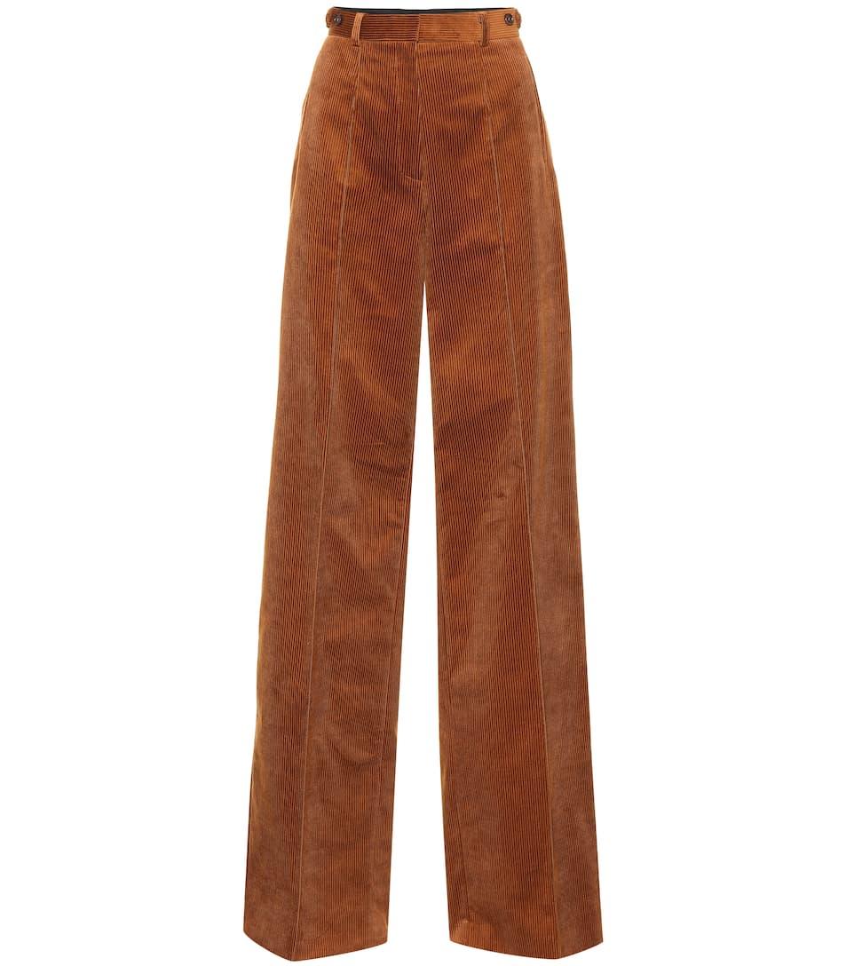 d0c300e387d3a9 Wide-Leg Corduroy Pants - Rokh | mytheresa