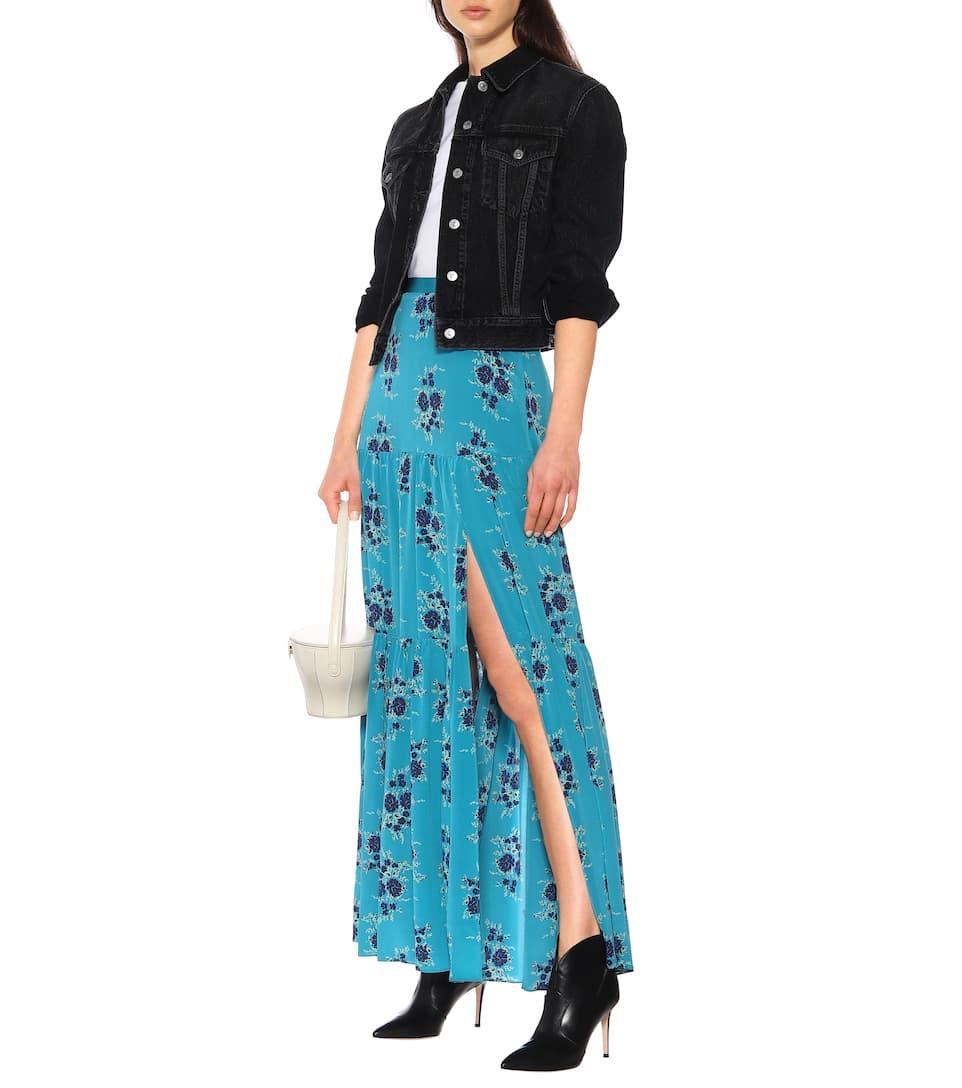 df6db0ba75aa6 Serence floral silk maxi skirt. NEW ARRIVAL. Veronica Beard