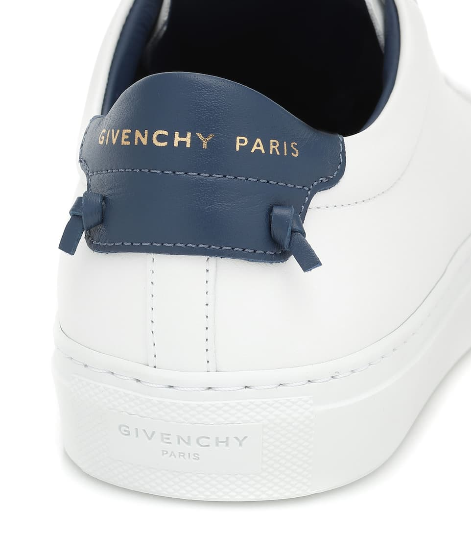 Urban Knots Leather Sneakers   Givenchy