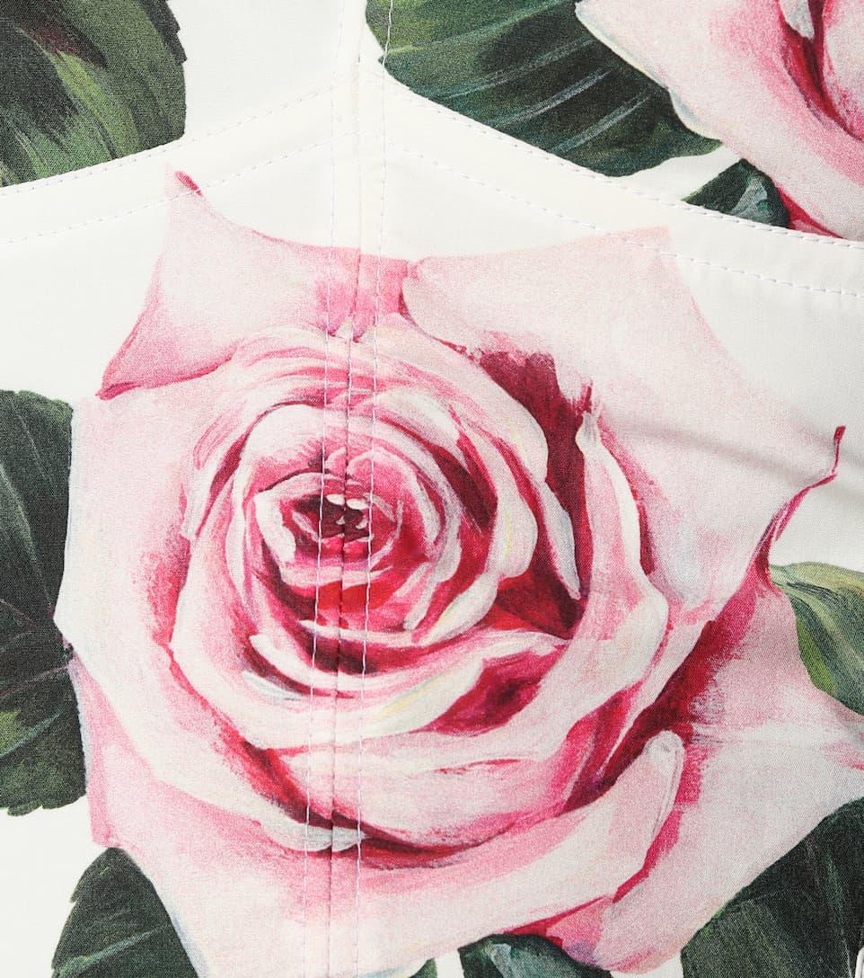 Dolce & Gabbana - Floral cady bustier