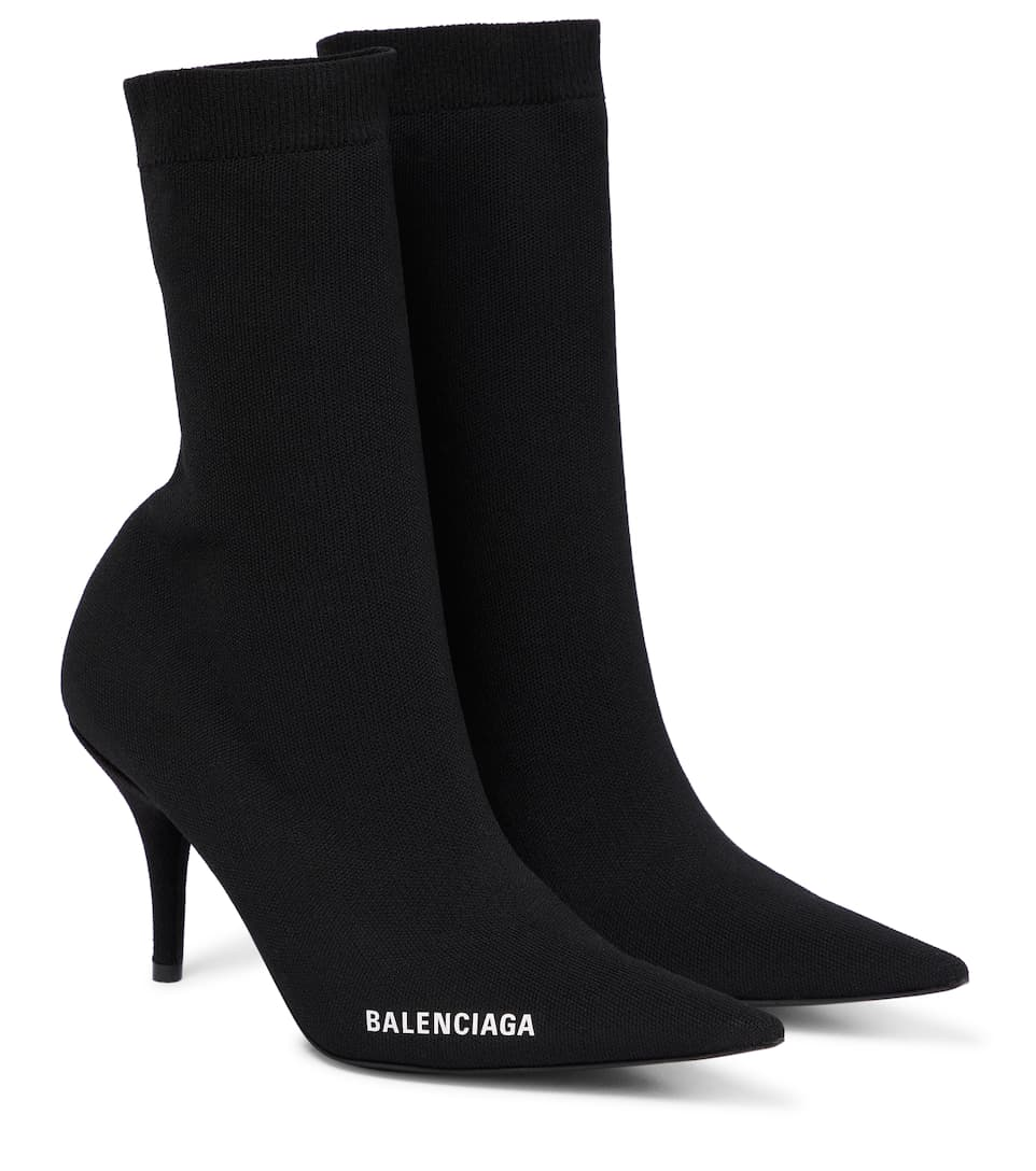 Knife Sock Boots - Balenciaga | Mytheresa