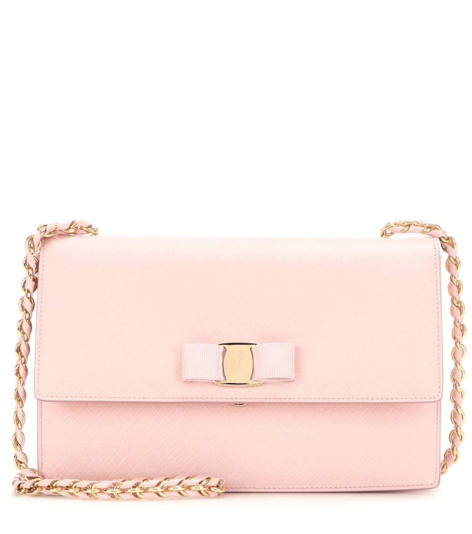 Salvatore Ferragamo Ginny leather shoulder bag