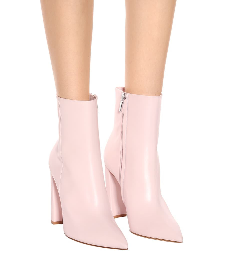Gianvito Rossi Ankle Boots Piper aus Leder
