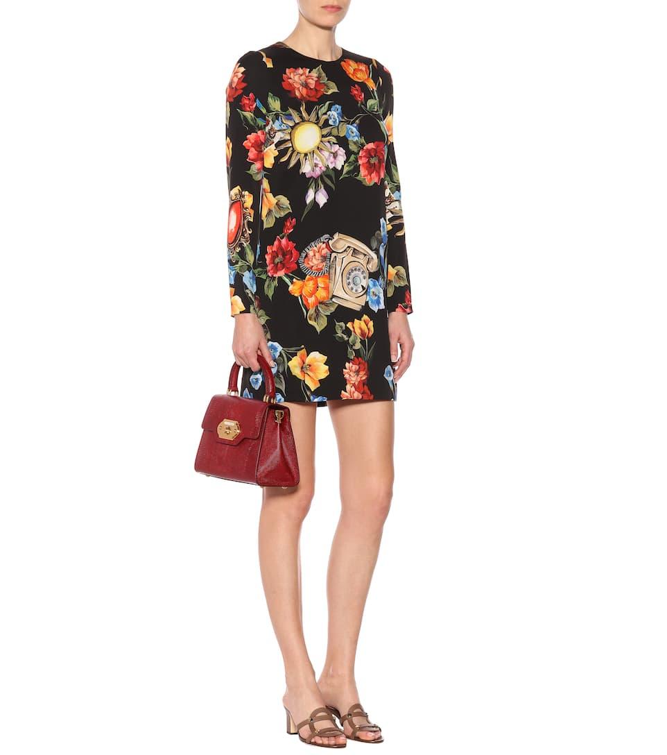 Dolce & Gabbana - Robe en crêpe imprimé Sortie 2018 mVBiBSIaHZ