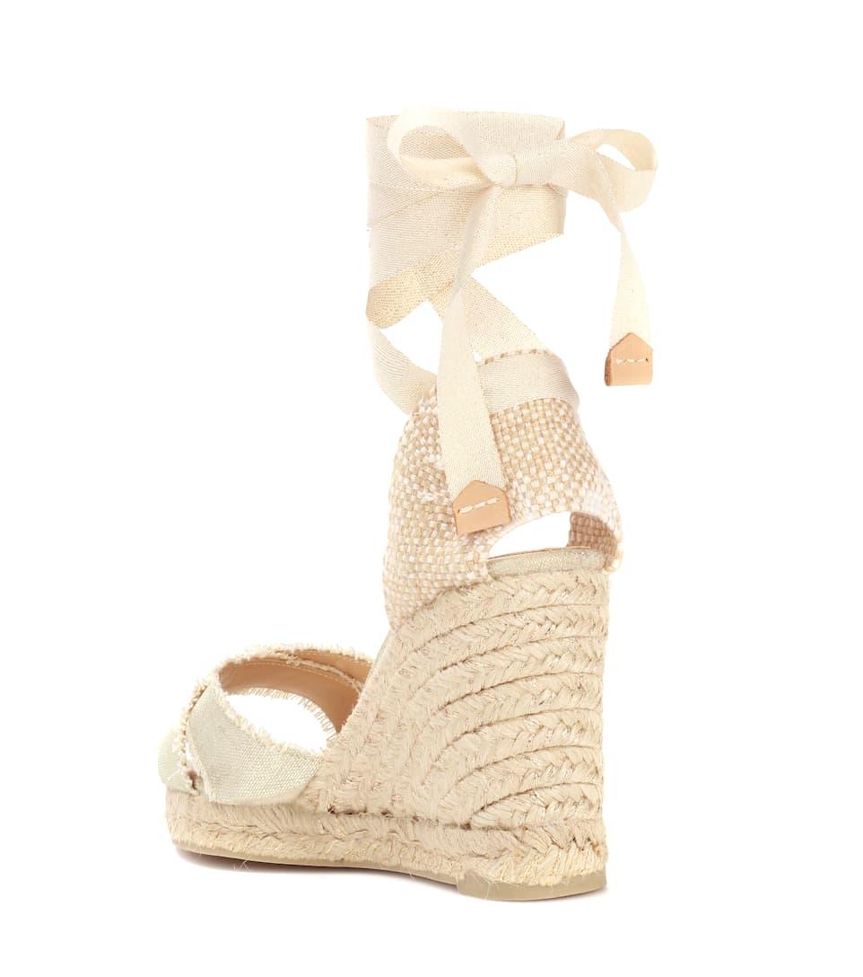 Castañer Espadrille-Sandalen mit Keilabsatz Günstig Kaufen Klassisch Freies Verschiffen Billig Aus Deutschland Online yGJ15