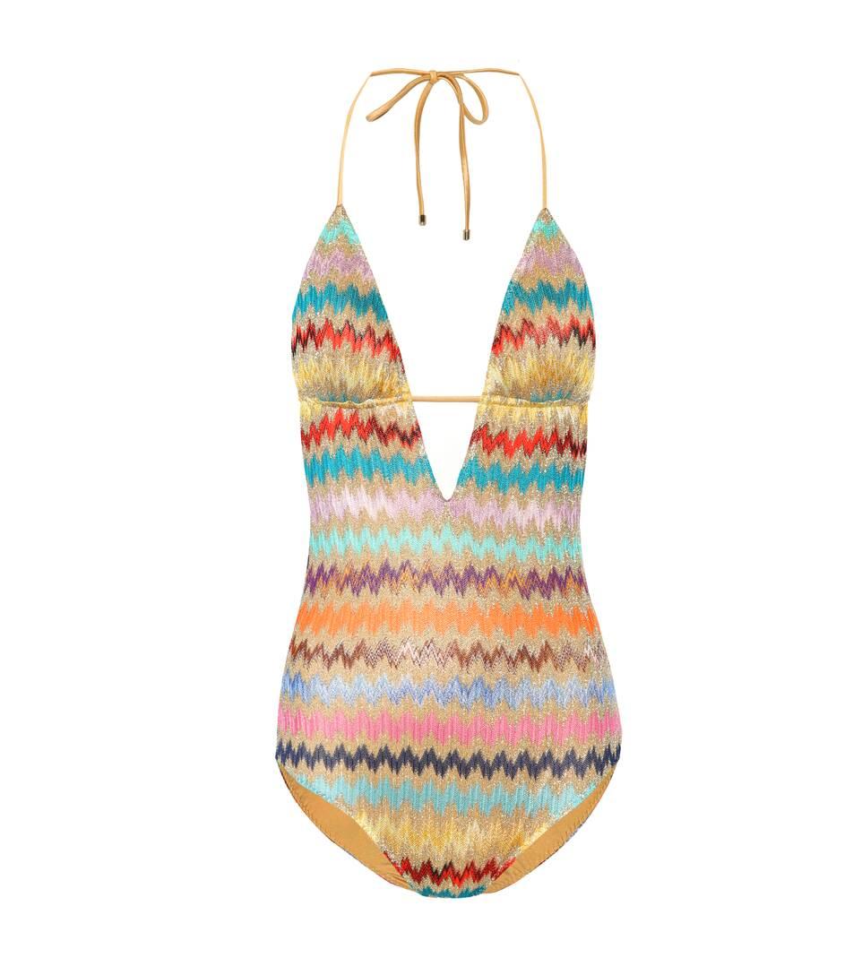 Missoni punto de Mare baño Traje de de Multicolor croché vxqRFFSw