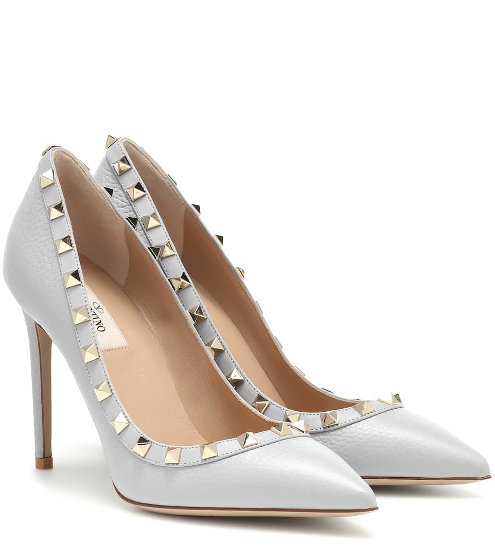 Valentino - Valentino Garavani Rockstud leather pumps
