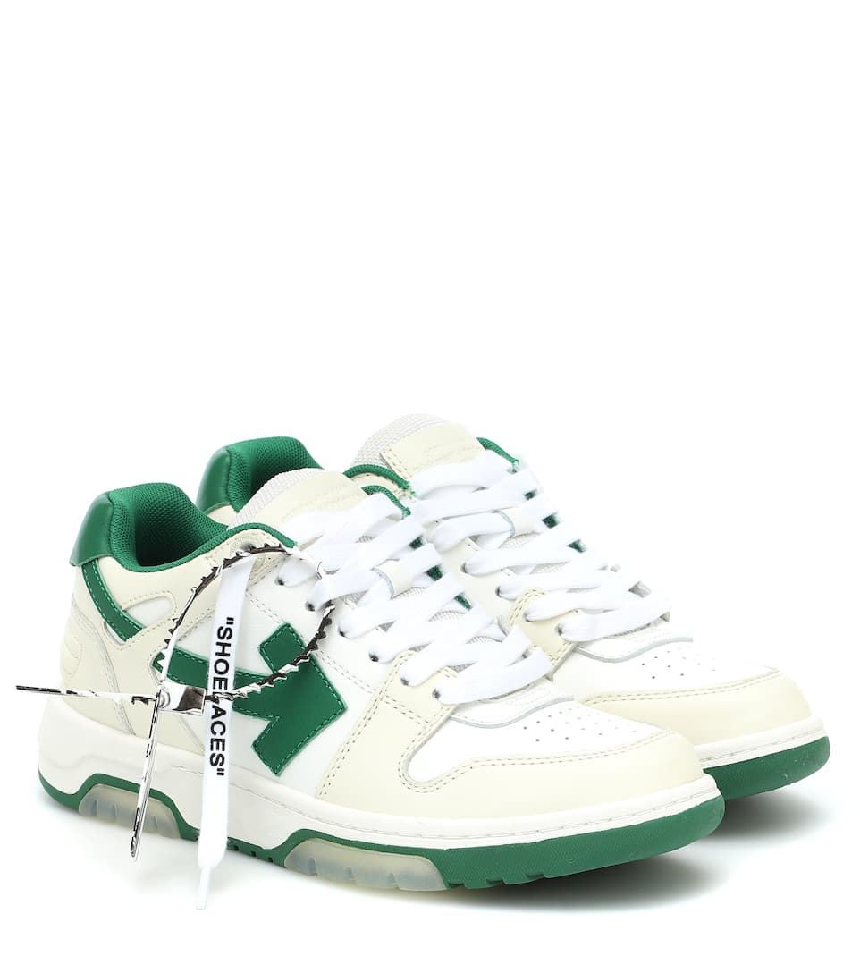 Ooo Out Of Office Leather Sneakers