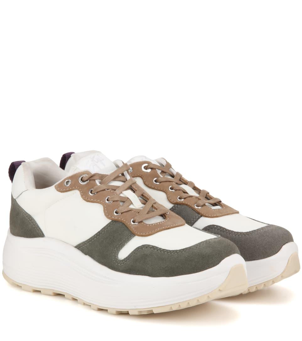Eytys Suede Jet Combo Sneakers lYS24I2vAN