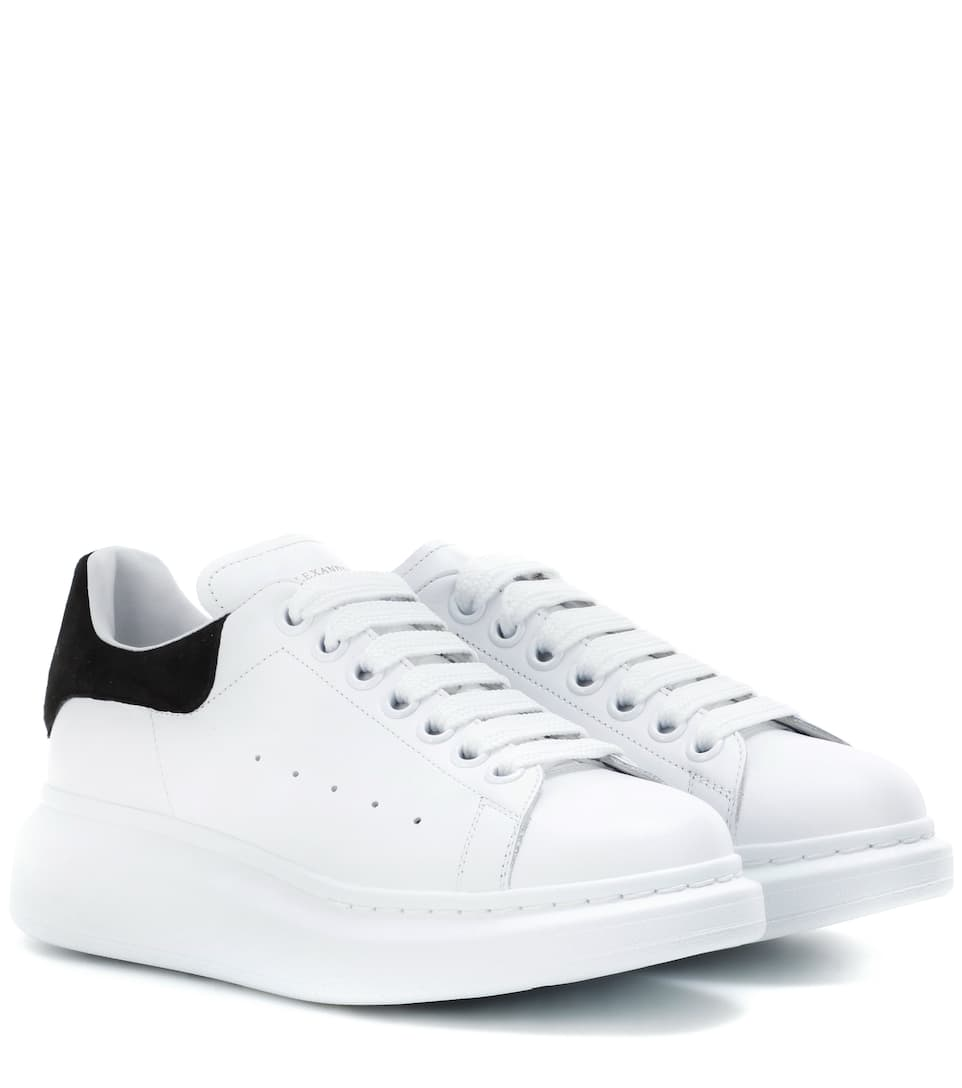2beab6ad7a395 Leather Sneakers ▻ Alexander McQueen » mytheresa