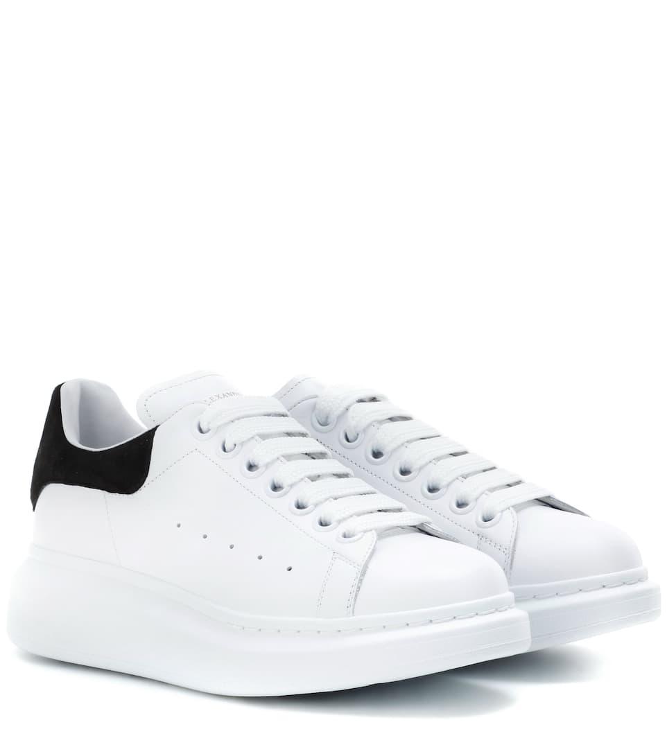 Alexander McQueen Plateau-Sneakers Larry aus Leder