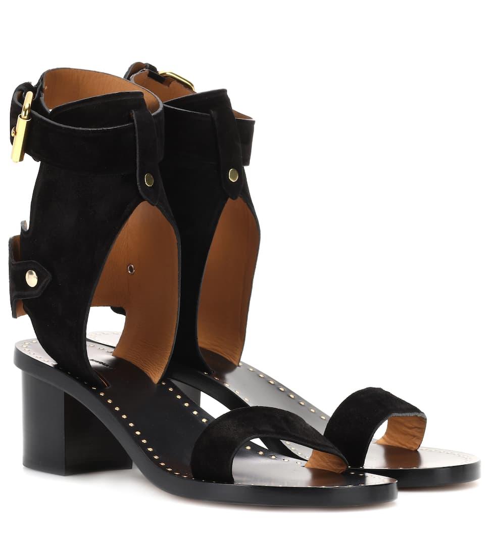 Sandales En Daim Jaeryn - Isabel Marant