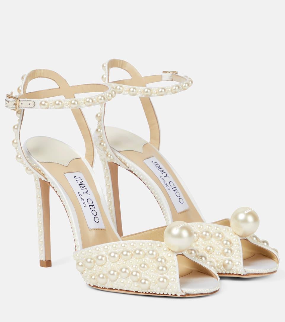 Sacora 100 Embellished Sandals Jimmy Choo Mytheresa