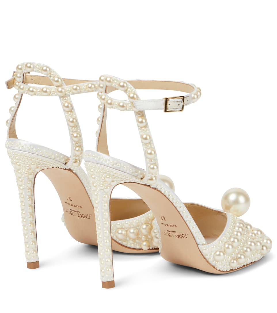 bc7aedb7067 Jimmy Choo - Sacora 100 embellished sandals