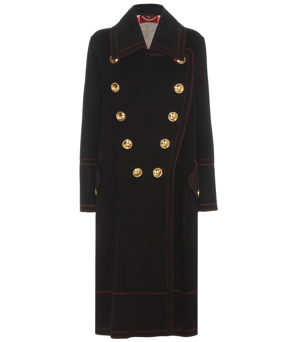 Burberry Mantel aus Wolle und Cashmere