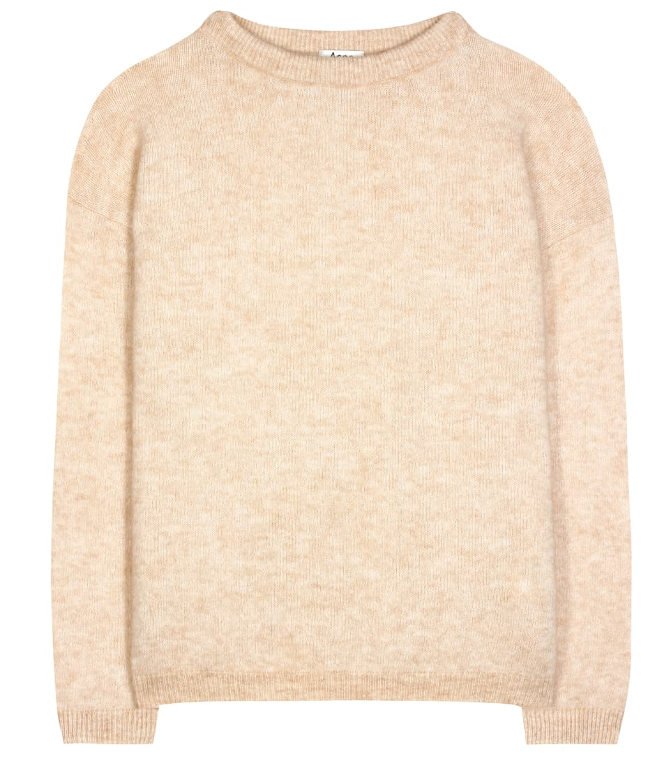 Acne Studios Dramatic Pullover Of A Wool-mohair Mixture