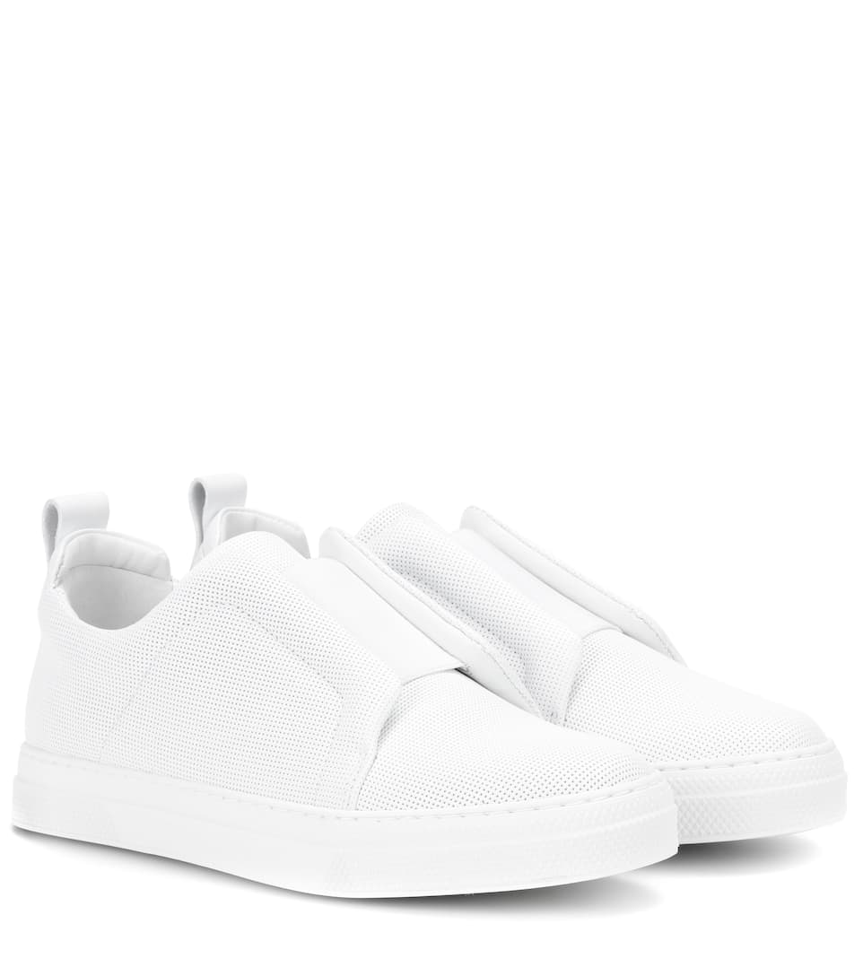 Pierre Hardy Sneakers Slider Aus Leader