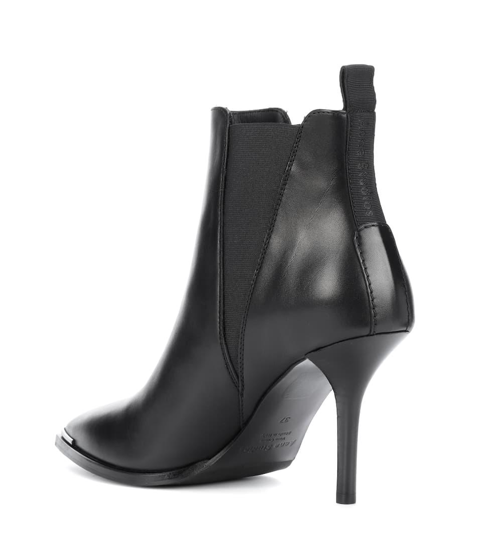 Acne Studios Ankle Boots Jemma aus Leder Einen Günstigen Online-Verkauf Kostengünstige Online Rabatt Veröffentlichungstermine vg4Xw