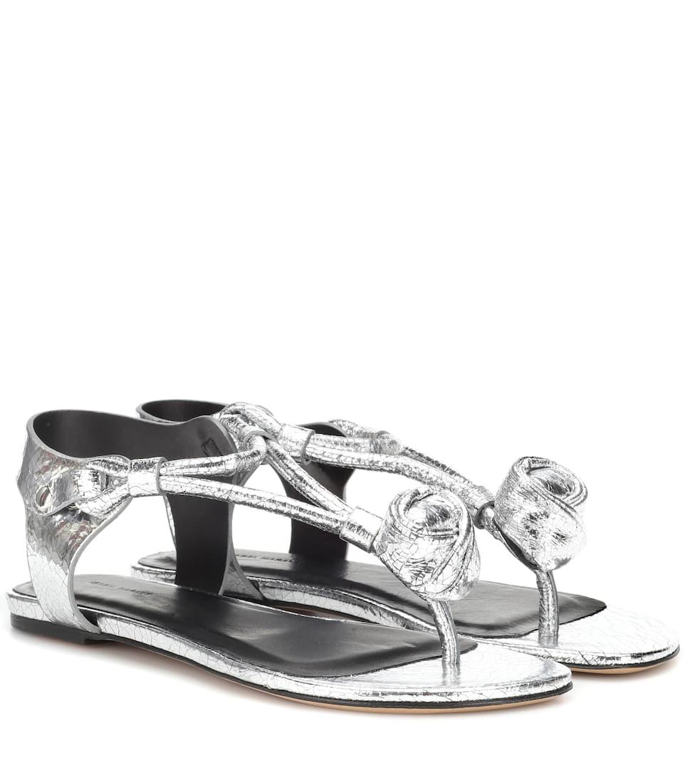 Sandales En Cuir Jarley - Isabel Marant
