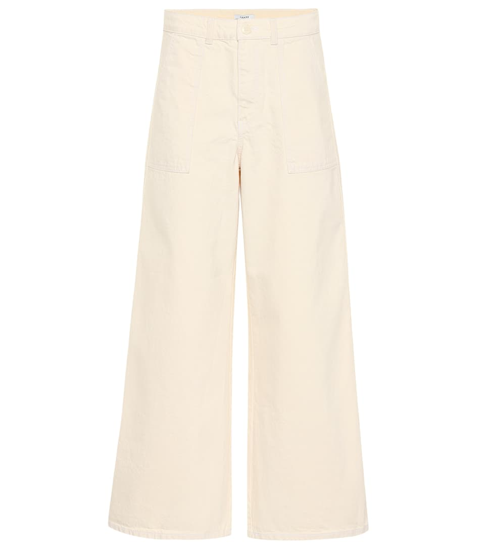 Ganni Bluebell denim pants Vanilla Ice Discount With Paypal Cheap Great Deals Buy Cheap Free Shipping O9eQN0aeU