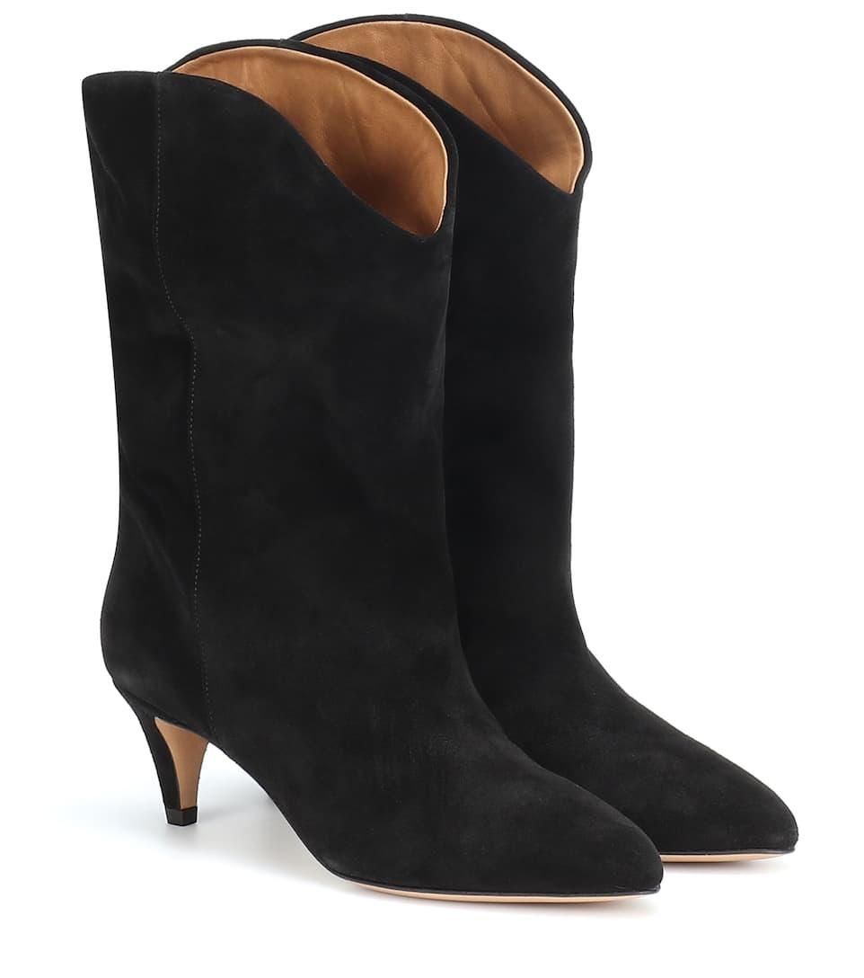 14ad9541d26 Isabel Marant - Dernee suede ankle boots | Mytheresa