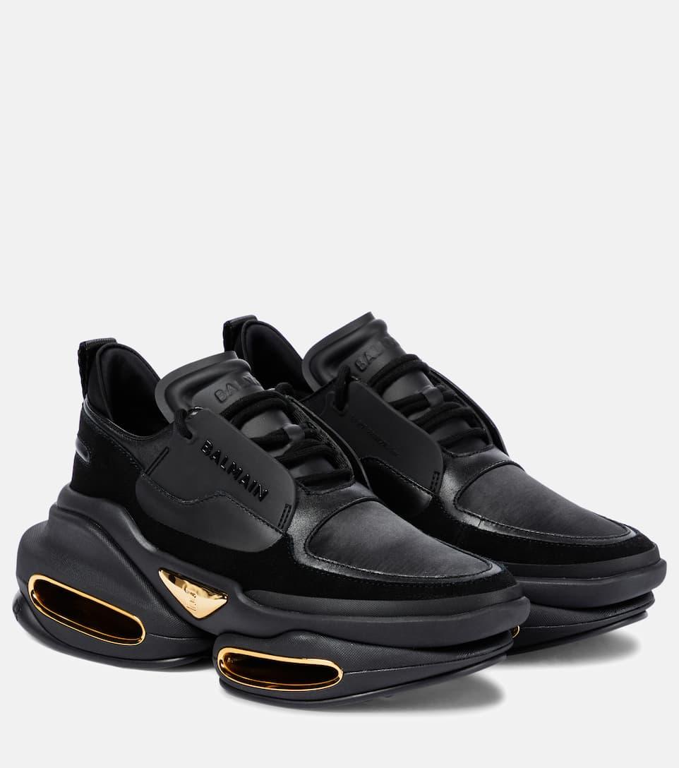 Bbold Leather Sneakers   Balmain
